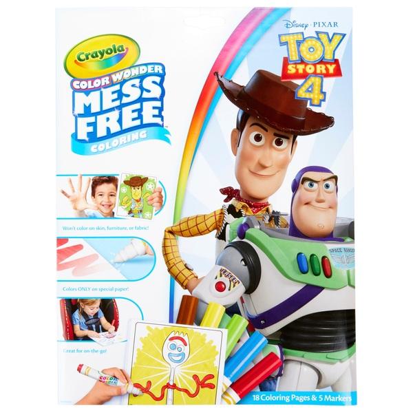 Crayola Colour Wonder Toy Story 4