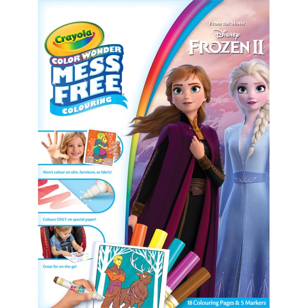 Crayola Disney Frozen 2 Colour Wonder Foldalope