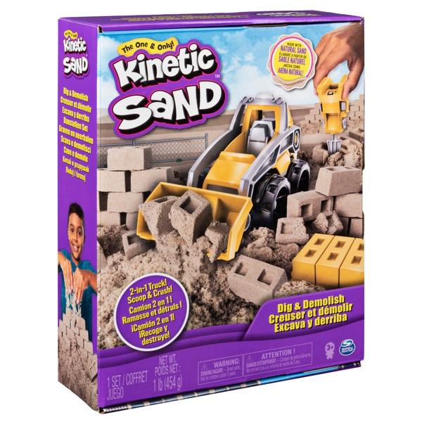 Kinetic Sand Dig N' Demolish