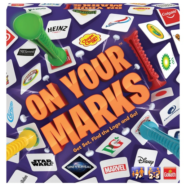 On Your Marks Board Game