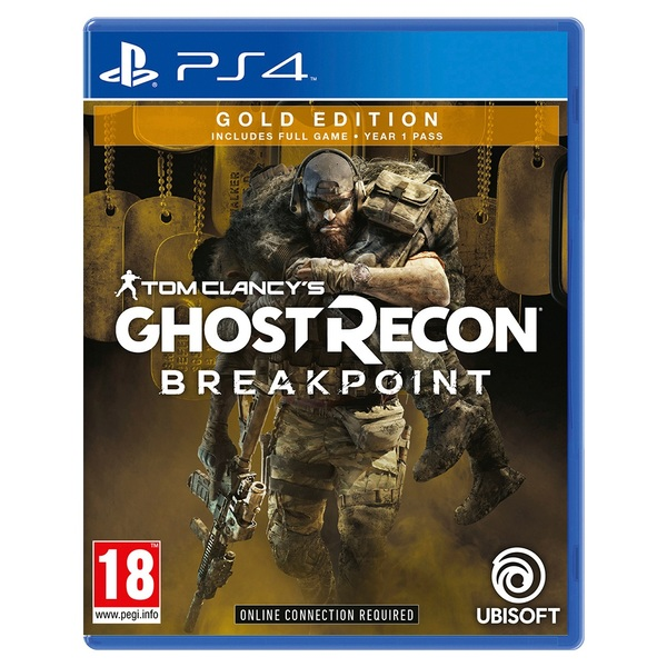 Tom Clancy`s Ghost Recon Breakpoint Gold Edition PS4