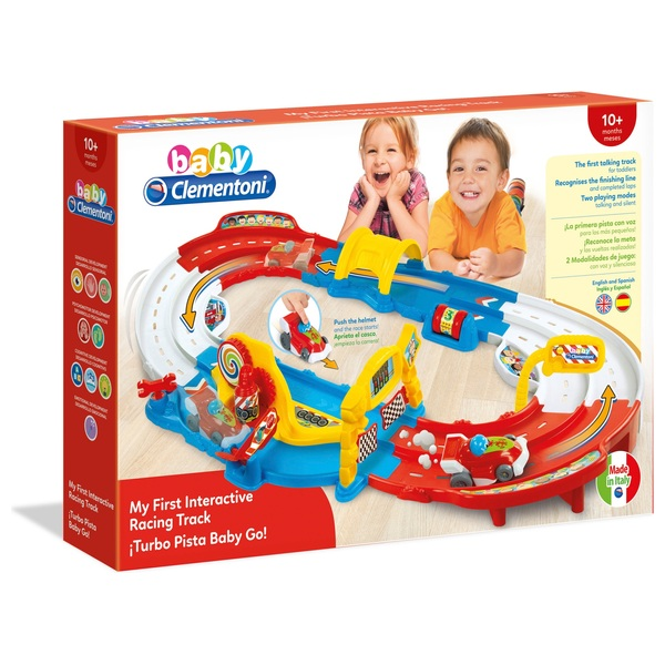 Baby Clementoni My First Interactive Racing Track