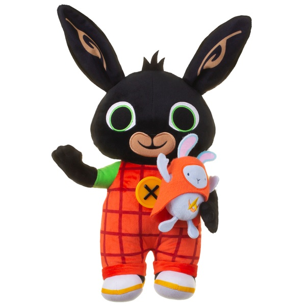 Light Up Talking Bing and Hoppity Plush