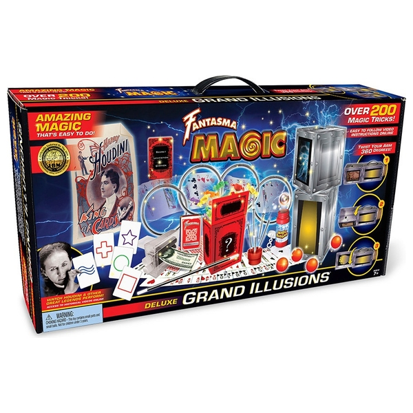 Fantasma Grand Illusions 200+ Magic Tricks Set