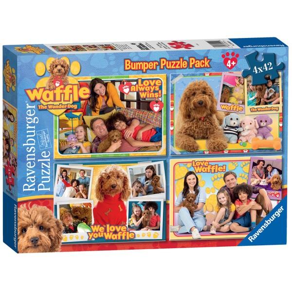Ravensburger Waffle the Wonder Dog Bumper Puzzle Pack