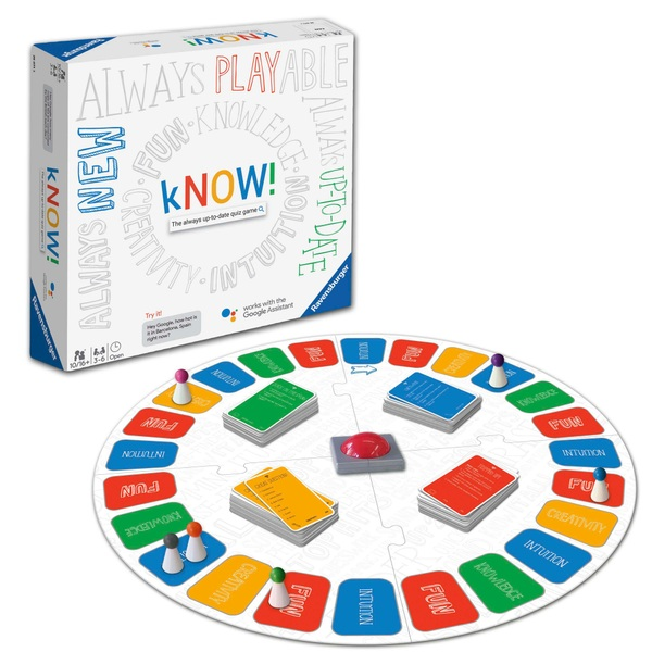 """""""Ravensburger kNOW! – The always-up-to-date quiz game powered by the Google Assistant"""