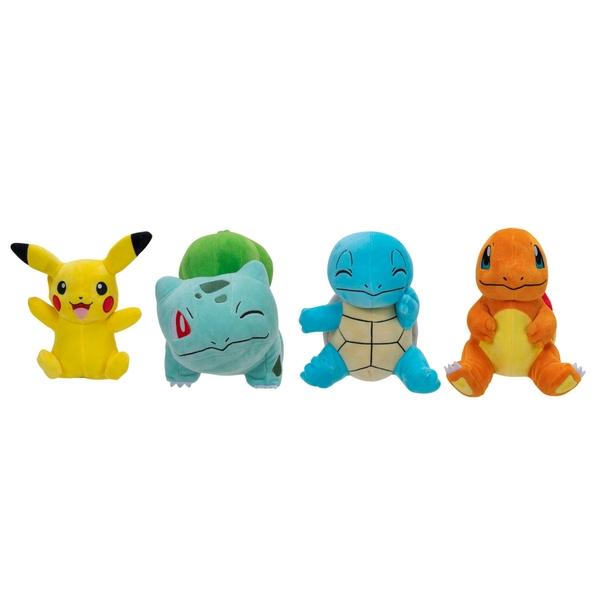 Pokémon 20cm Plush 4 Pack