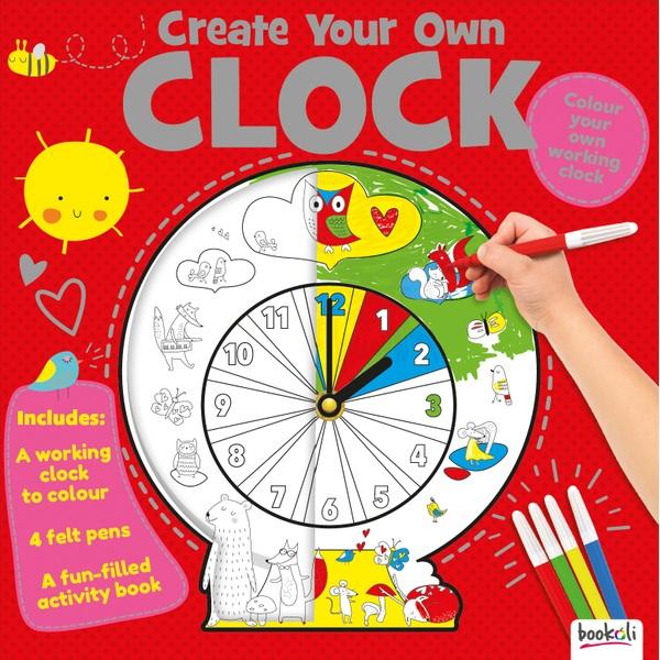 Fun Box Create Your Own Clock