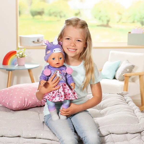 BABY born Soft Touch Unicorn 43cm Doll Edition