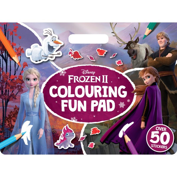 Giant Colour Me Pad Disney - Disney Frozen 2