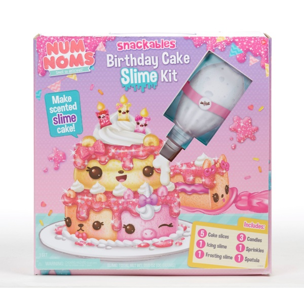 Cool Num Noms Snackables Birthday Cake Slime Smyths Toys Ireland Funny Birthday Cards Online Elaedamsfinfo