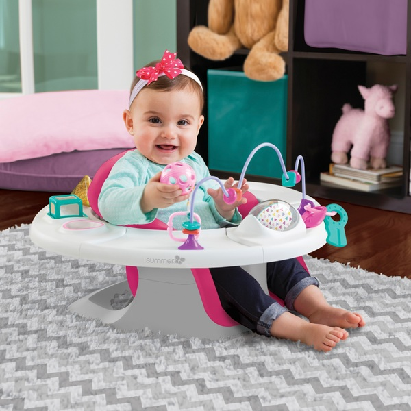 Summer Infant 4-in-1 SuperSeat Pink
