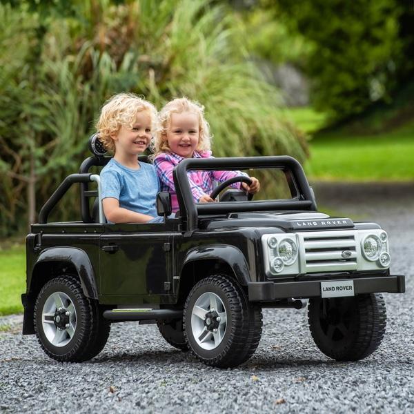 12V Land Rover Defender SVX Ride-On