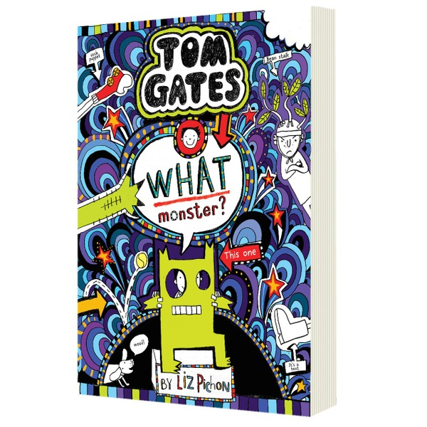 Tom Gates: What Monster? PB Book