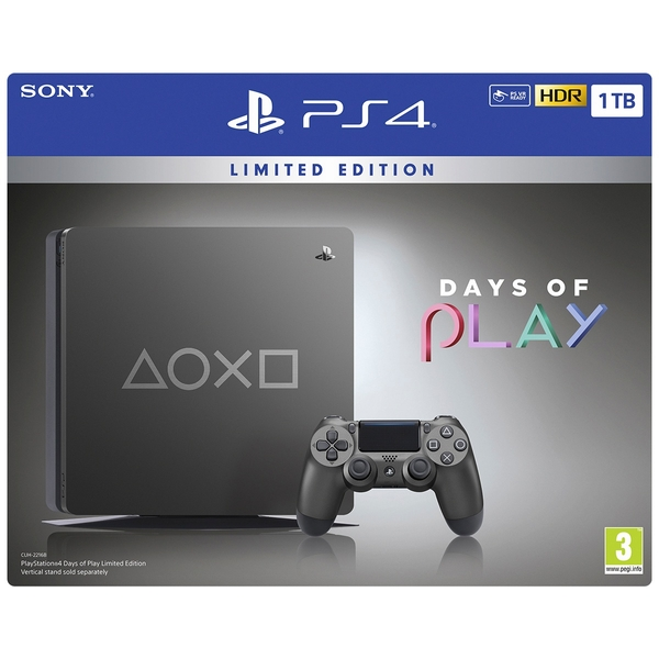 PS4 1TB Limited Edition Days Of Play Console