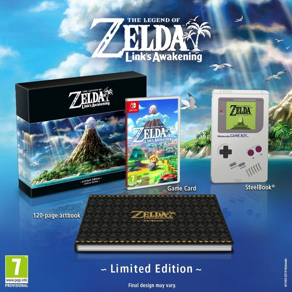 The Legend of Zelda: Link's Awakening Limited Edition Nintendo Switch -  Coming Soon - Nintendo Switch UK