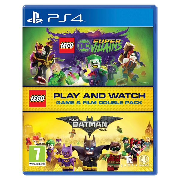 LEGO DC Super Villains & The LEGO Batman Movie Double Pack PS4