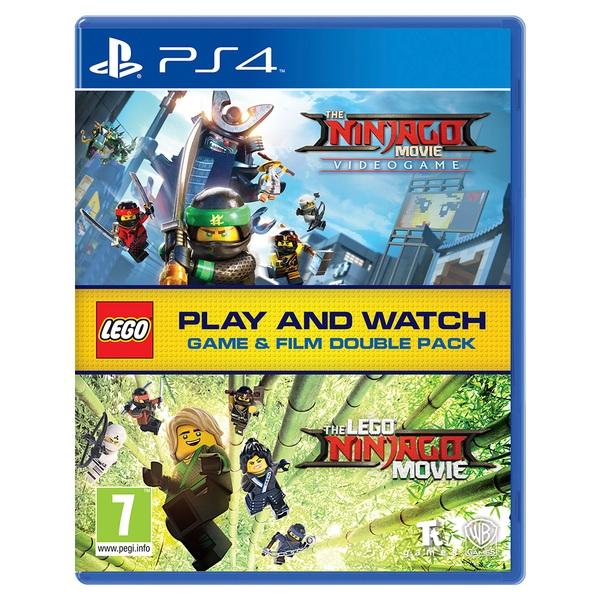 The LEGO Ninjago Movie Videogame & The LEGO Ninjago Movie Double Pack PS4