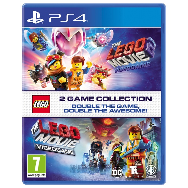 The LEGO Movie 1 & 2 Double Pack PS4