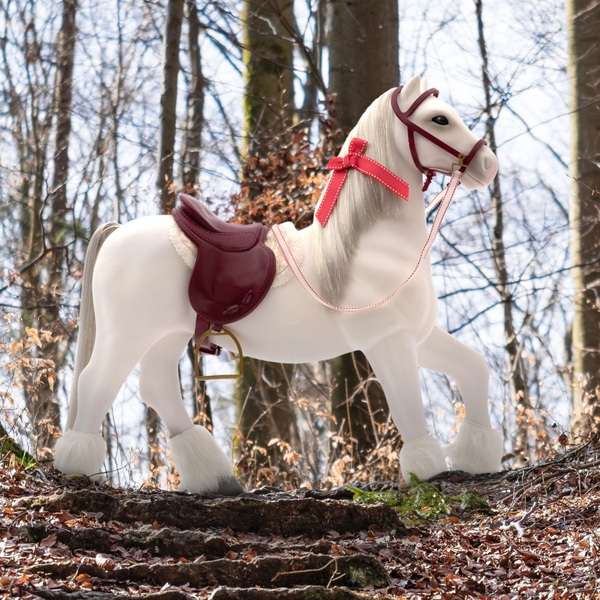 Our Generation Clydesdale Holiday Horse