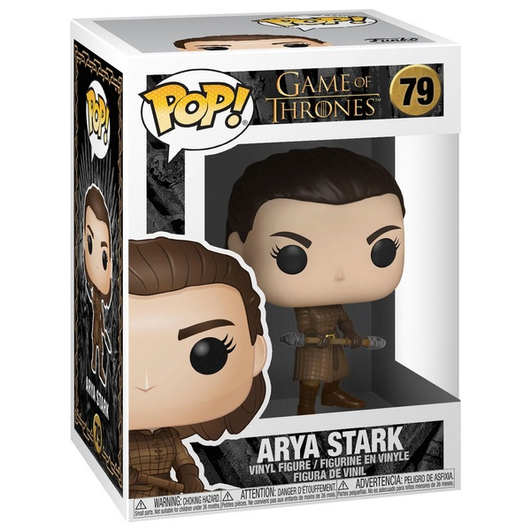 POP! Vinyl: Game of Thrones Arya with Two-Headed Spear