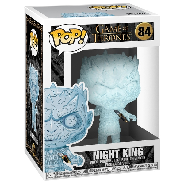 POP! Vinyl: Game of Thrones Night King with Dagger