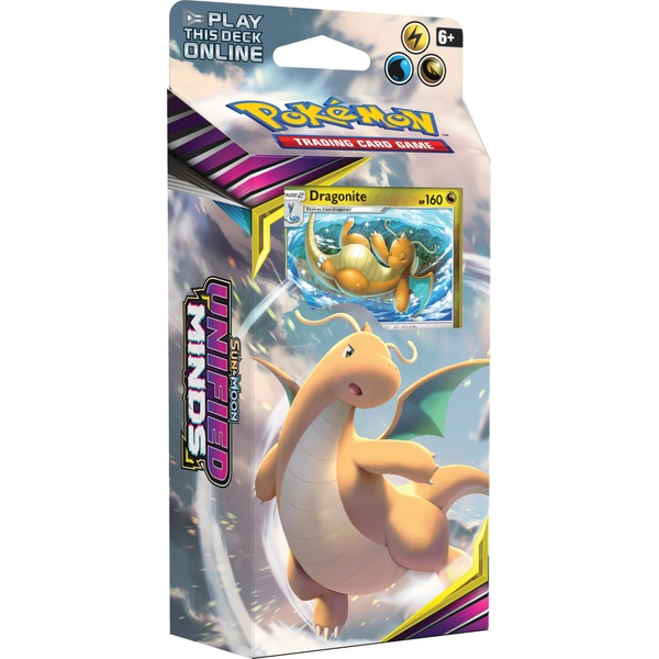 Pokémon Trading Card Game Sun and Moon Unified Minds Theme Deck