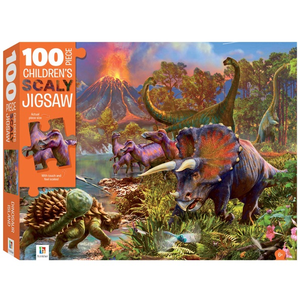 100-Piece Children's Jigsaw - Dinosaurs