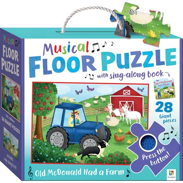 Musical Floor Puzzles - Old Macdonald