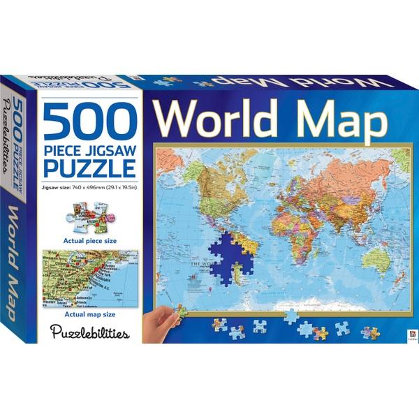 Puzzlebilities 500 Piece Jigsaw - World