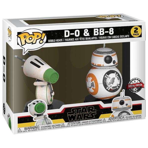 POP! Vinyl: D-O and BB-8 2 Pack Rise of Skywalker - Star Wars