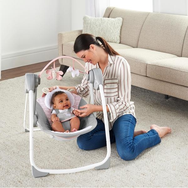 Comfort 2 Go Portable Swing - Flora Swing