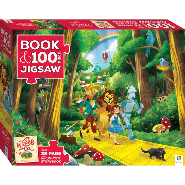 Book and 100 Piece Jigsaw - Wizard of Oz