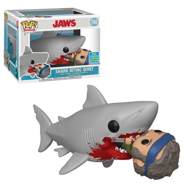 POP! Vinyl Movies: Jaws 15cm 1975 Biting Quint