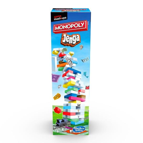 Mashups: Monopoly & Jenga Board Game