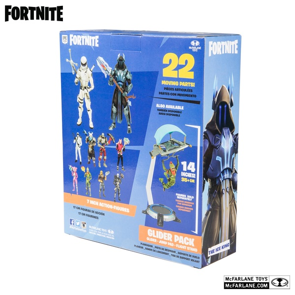Fortnite Ice King Mcfarlane Figure 19cm Fortnite Action Figures Uk