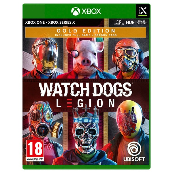 Watch Dogs Legion Gold Edition Xbox One - Coming Soon - Xbox One UK