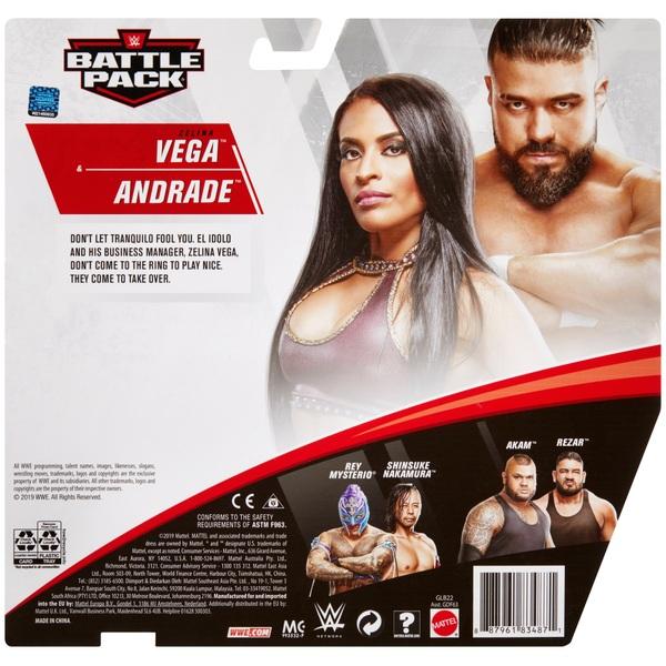Andrade Zelina Vega WWE Mattel Battle Pack Series 62 Action Figure NEW