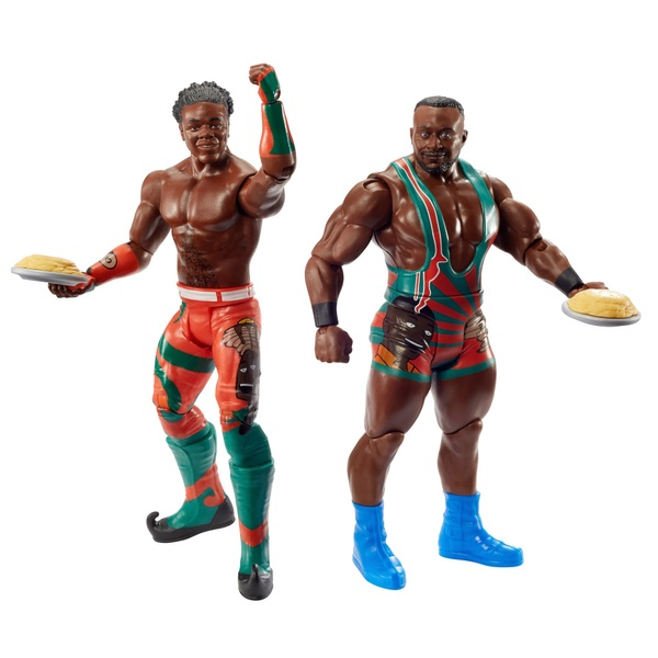WWE Battle Pack Series 63 Big E and Xavier Woods