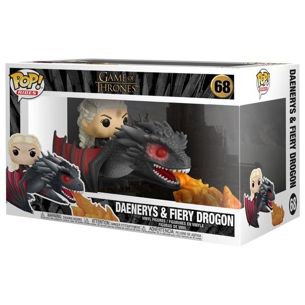 POP! Vinyl: Game of Thrones Daenerys Targaryen on Drogon