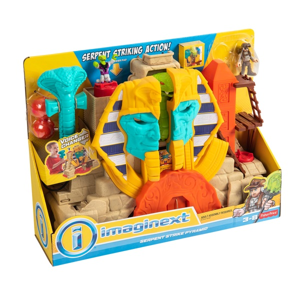 Fisher-Price Imaginext Core Serpent Strike Pyramid