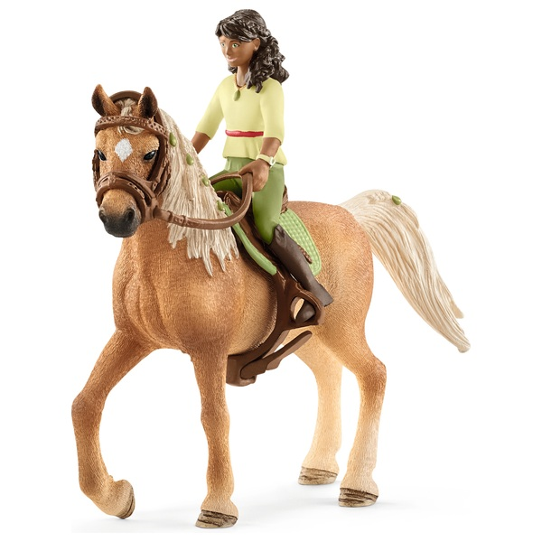 Schleich Horse Club and Rider Sarah and Mystery