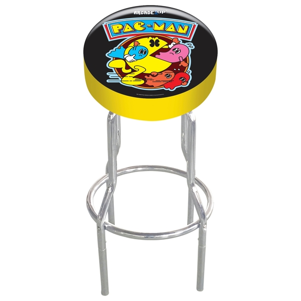 Arcade1Up Adjustable Gaming stool - PAC-MAN