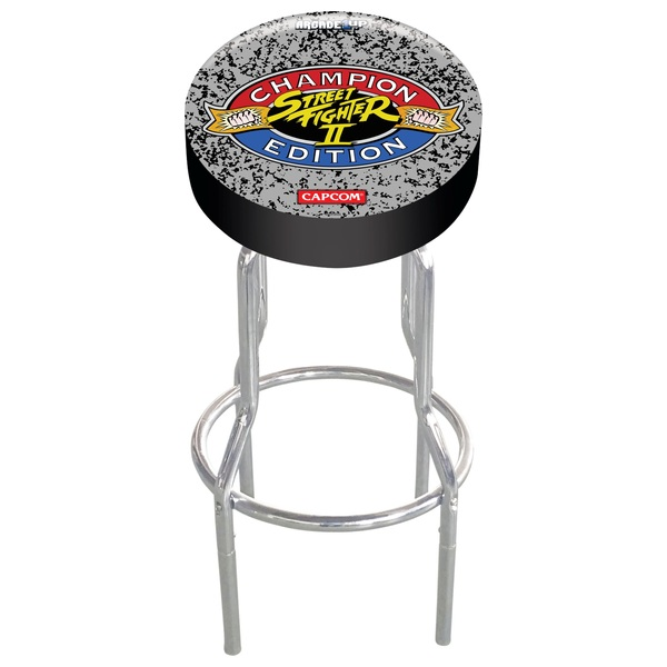 Arcade1Up Adjustable Gaming Stool - Street Fighter II