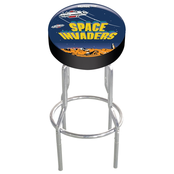 Arcade1UP Adjustable Gaming Stool - Space Invaders