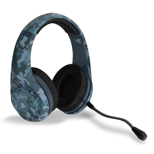 Official PS4 Wired Gaming Headset Midnight Camo