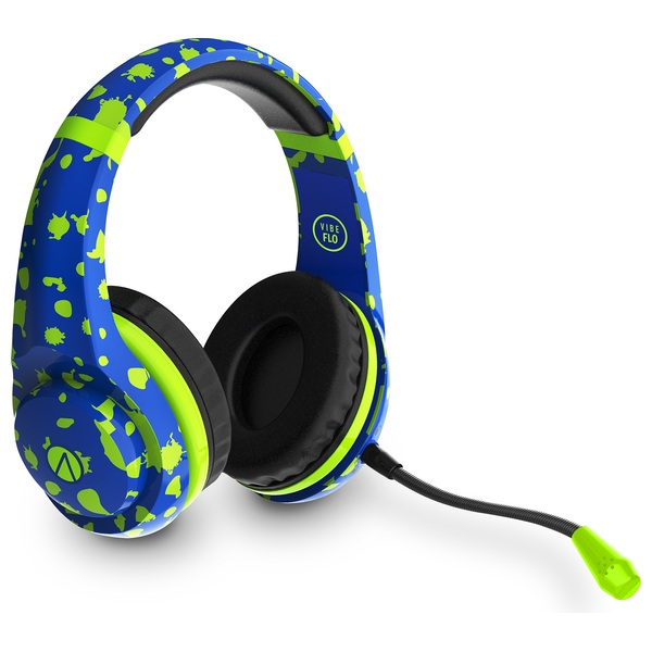 Multiformat Wired Vibe Blue Stereo Gaming Headset