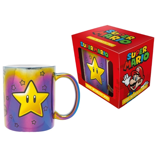 Super Mario (Star Power) Iridescent  Mug