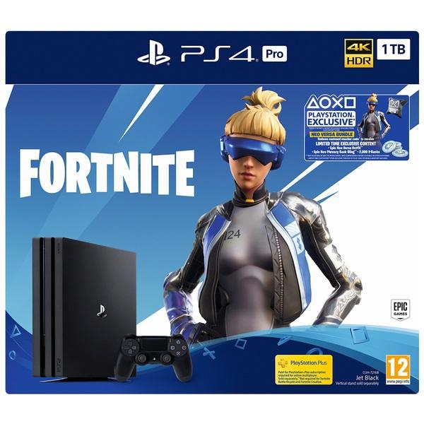 PS4 Pro 1TB Fortnite Neo Versa Bundle