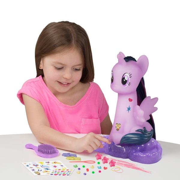 My Little Pony Light Up Styling Head Twilight Sparkle
